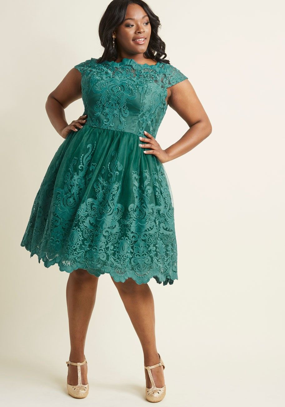 Plus Size Wedding Chi Chi London Exquisite Elegance Lace Dress in ...
