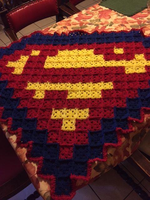 Superman Blanket | Deco | Pinterest | Manta, Cobija y Colchas
