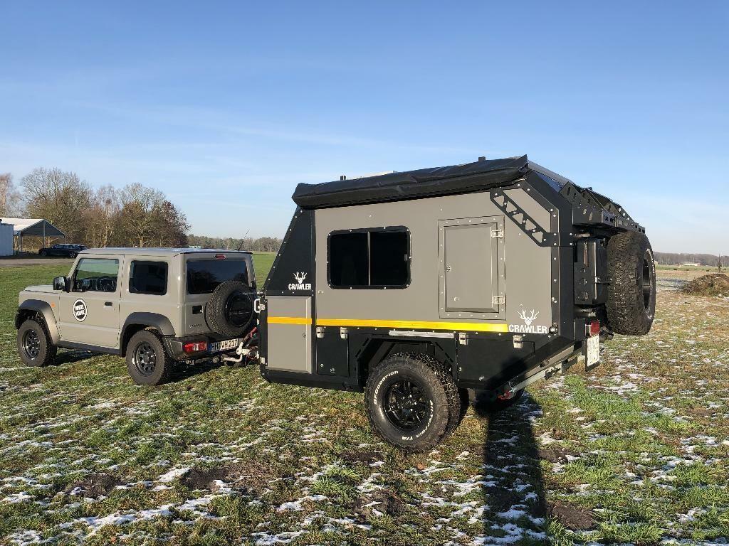 crawler trc 428 offroad anh nger mini caravan in eimsb ttel hamburg lokstedt gebrauchter. Black Bedroom Furniture Sets. Home Design Ideas