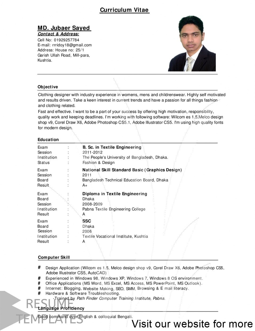 actor resume template free 2020 in 2020 Resume template