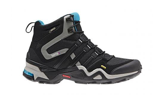62b002b99f01 adidas Terrex Fast X High Women s carbon core black solar blue ...