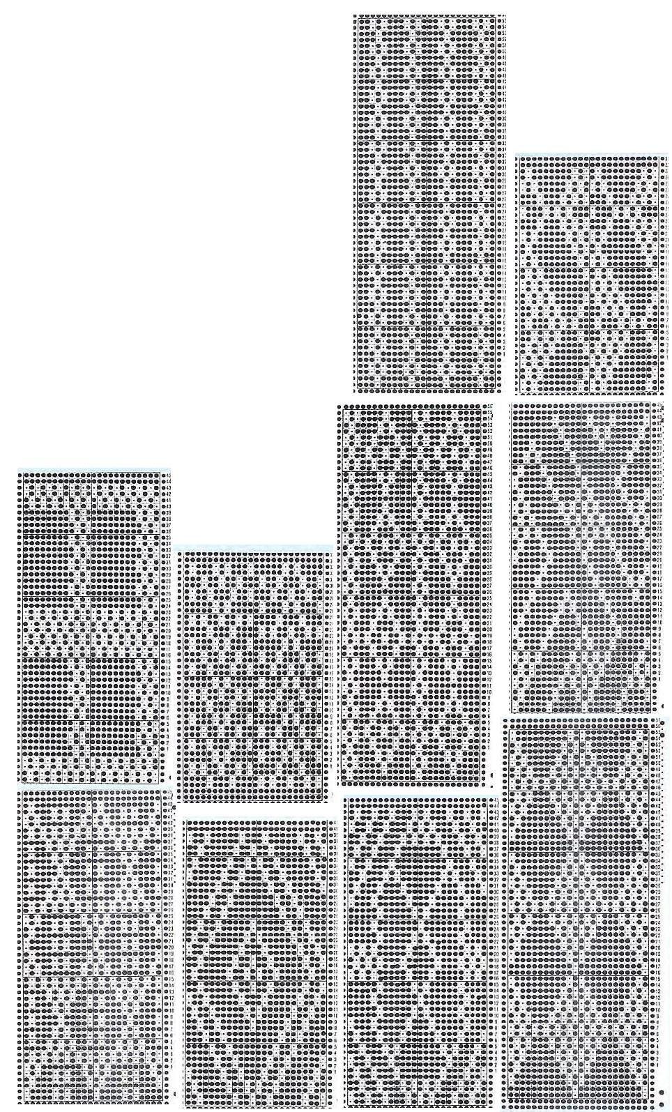 Pin von SELENMAR auf #Designs for Machine Knitting #TUCK # Фанг ...