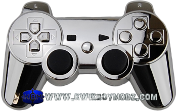 Chrome Dualshock 3 Ps3 Controller Ps3 Controller Dualshock Ps3