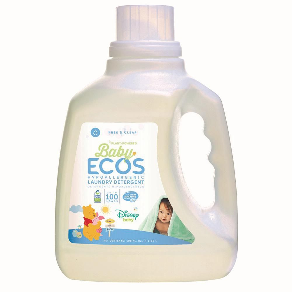 Ecos 100 Oz Disney Baby Free And Clear Liquid Laundry Detergent