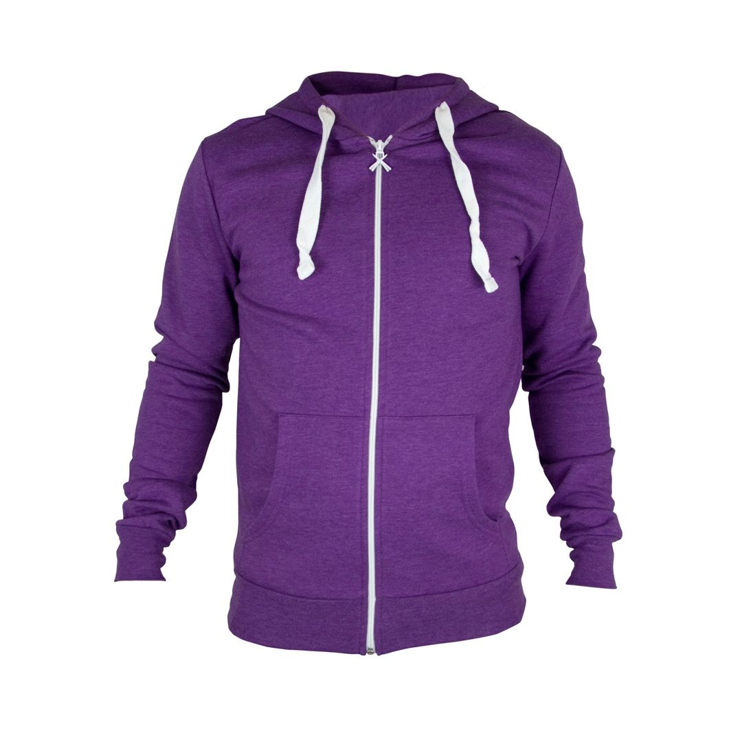 Mens Purple Hoodie - Trendy Clothes