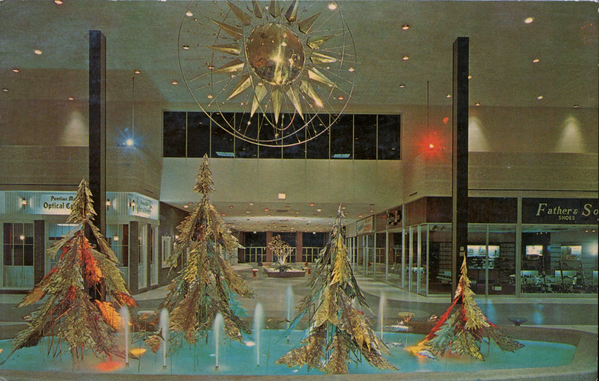 The Mall, Pontiac, Michigan | Pinterest | Mall