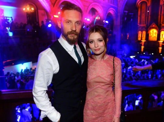 Tom Hardy and Emily Browning  at the 'Legend' after party - Sep. 3rd 2015
