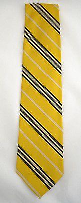 Lands End 100 Silk Neck Tie Gold Navy White Striped   eBay http://cgi.ebay.com/ws/eBayISAPI.dll?ViewItem&item=331251092118&ssPageName=STRK:MESE:IT
