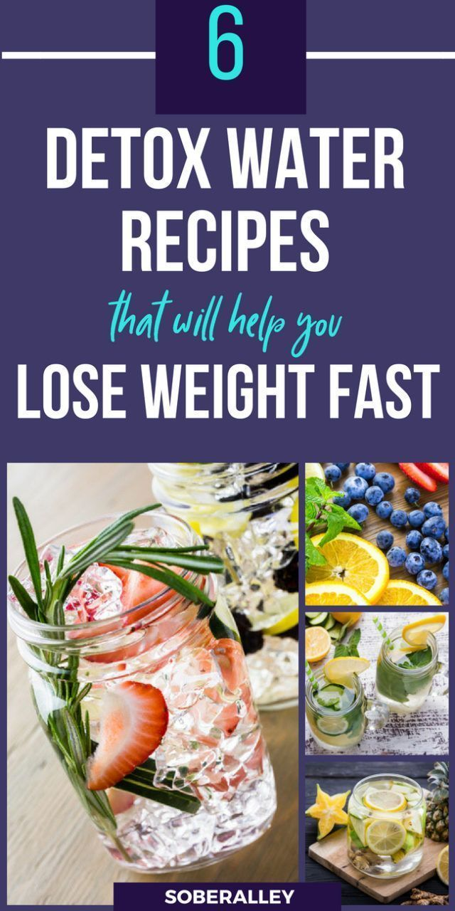 6 Slimming Detox Water Recipes For Fast Weight Loss