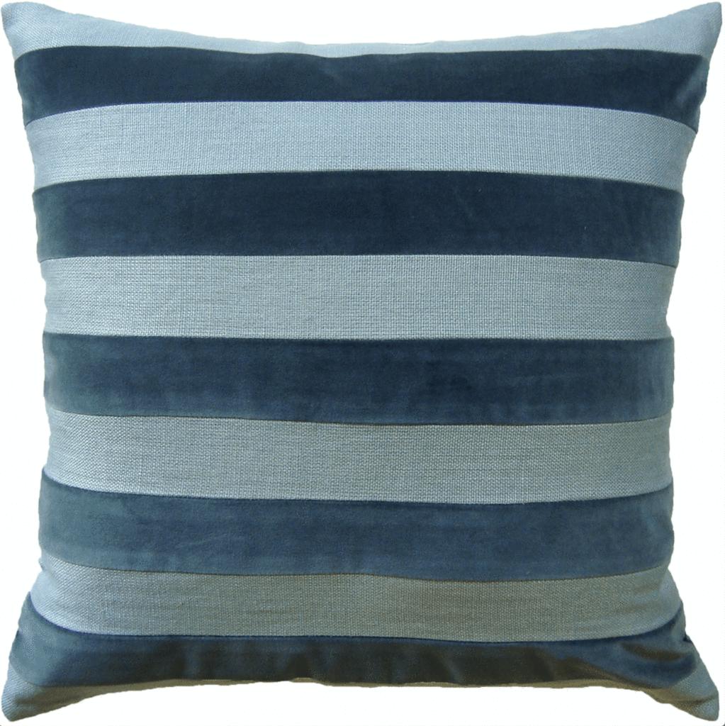 Velvet u linen stripe pillow spa for the home pinterest