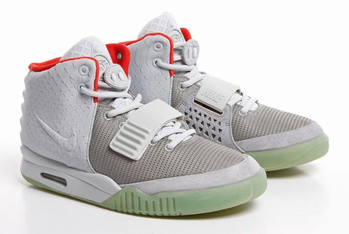 Nike Air Yeezy 2 Wolf Grey/Pure