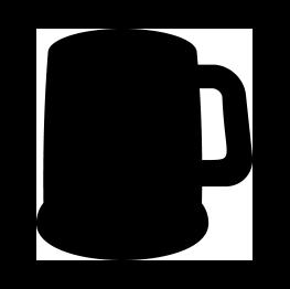 Free Svg Beer Mug Silhouette Silhouette Clip Art Silhouette
