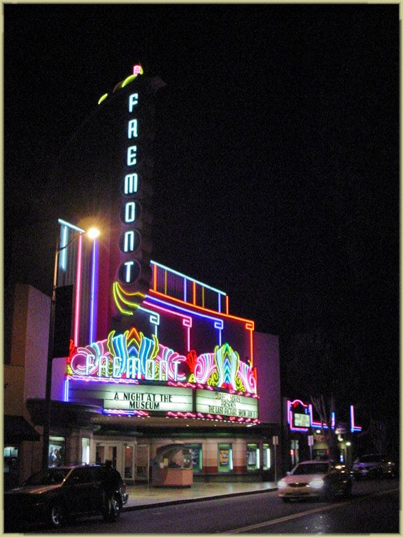 San Luis Obispo Night Lights Fremont Theater - 1 & San Luis Obispo Night Lights Fremont Theater - 1 | Neon ... azcodes.com