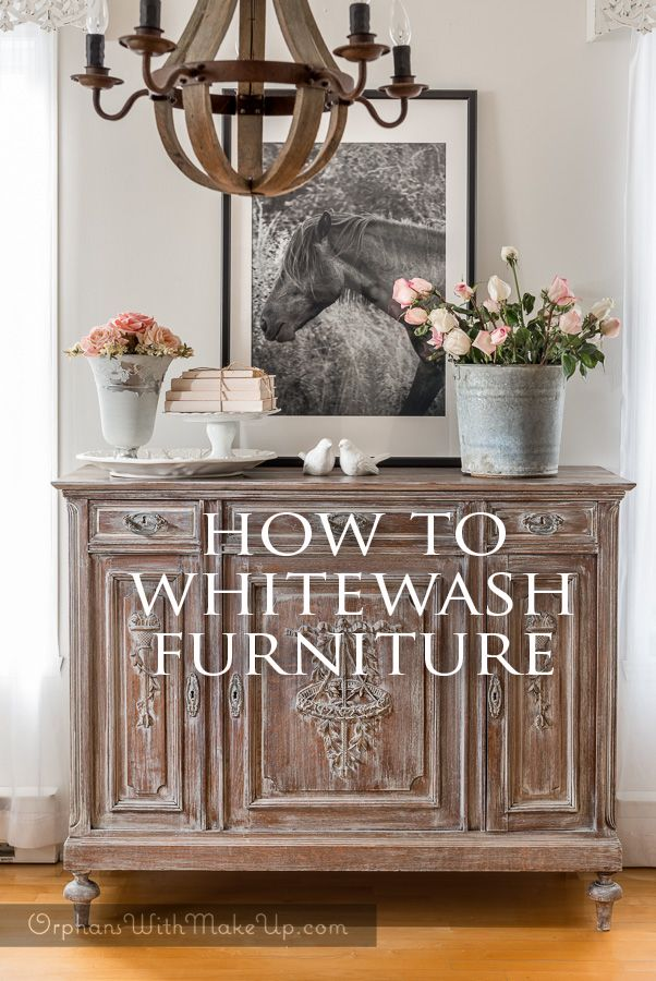 Attractive How To Whitewash Furniture