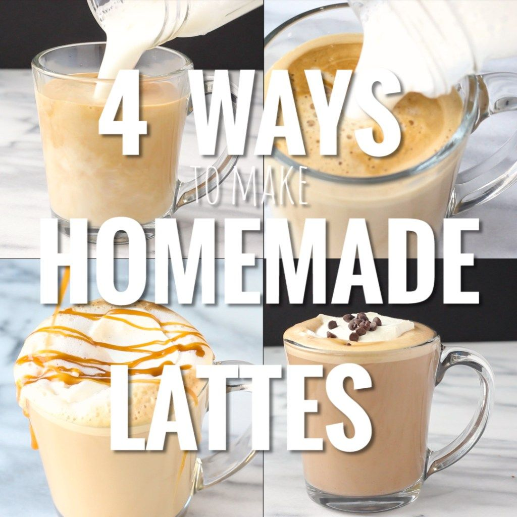 how to make a latte at home with instant coffee