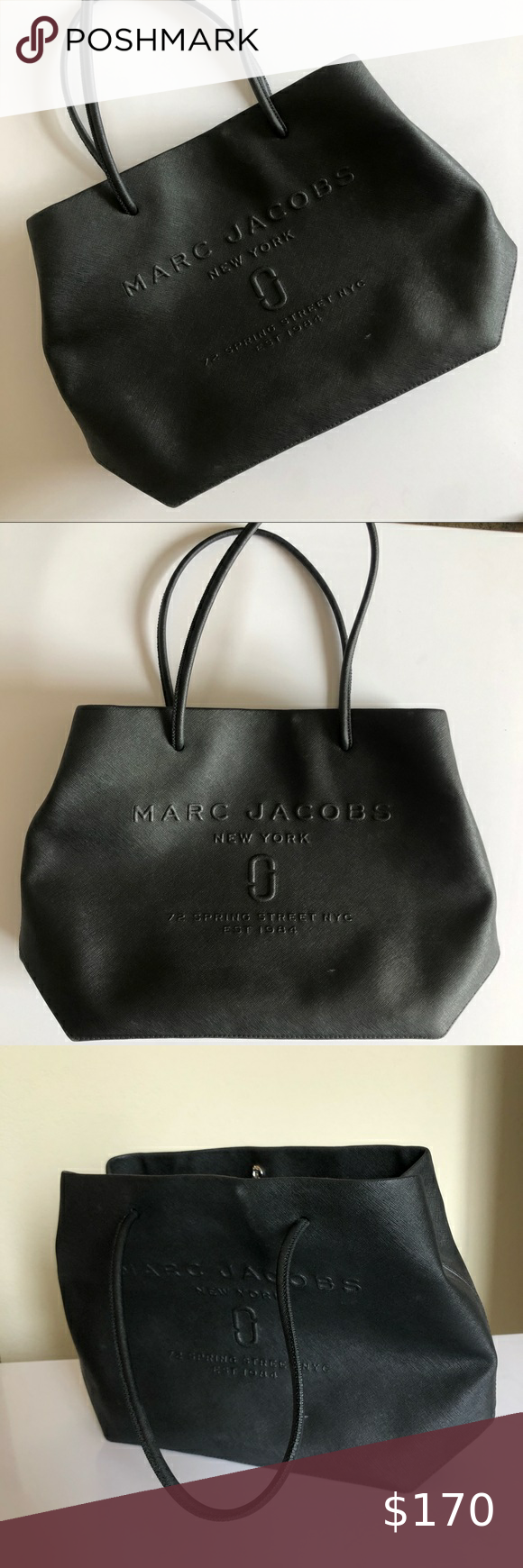 Marc Jacobs Logo Shopper East West Purse Super Clean No Flaws Used Only A Handful Of Times Features 72 Spring Street Ad Marc Jacobs Logo Marc Jacobs Jacobs