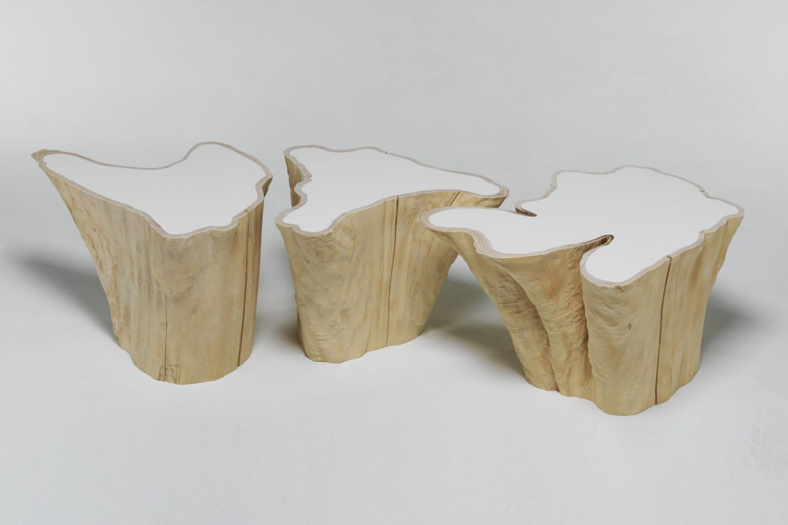 Bloom side table - Style No. 3 - Shop - Wood Design || Furniture and Accessories by Independent Makers