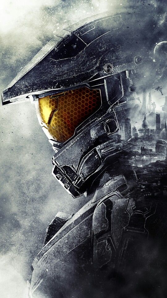 Master Chief phone wallpaper Halo Pinterest Master chief