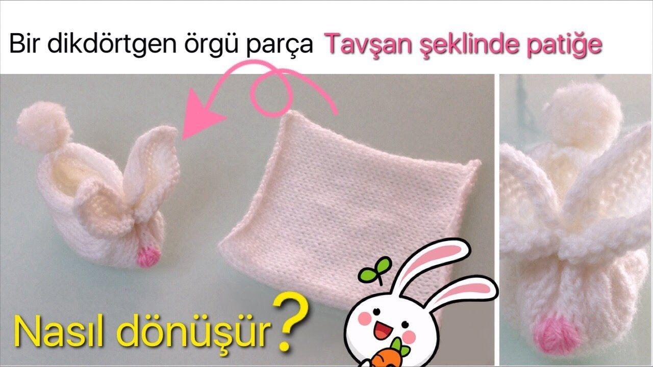 Pofuduk Bebek Patik Modeli Yapımı Türkçe Videolu