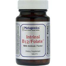 Intrinsi B12 Folate, 180 Tablets, Metagenics