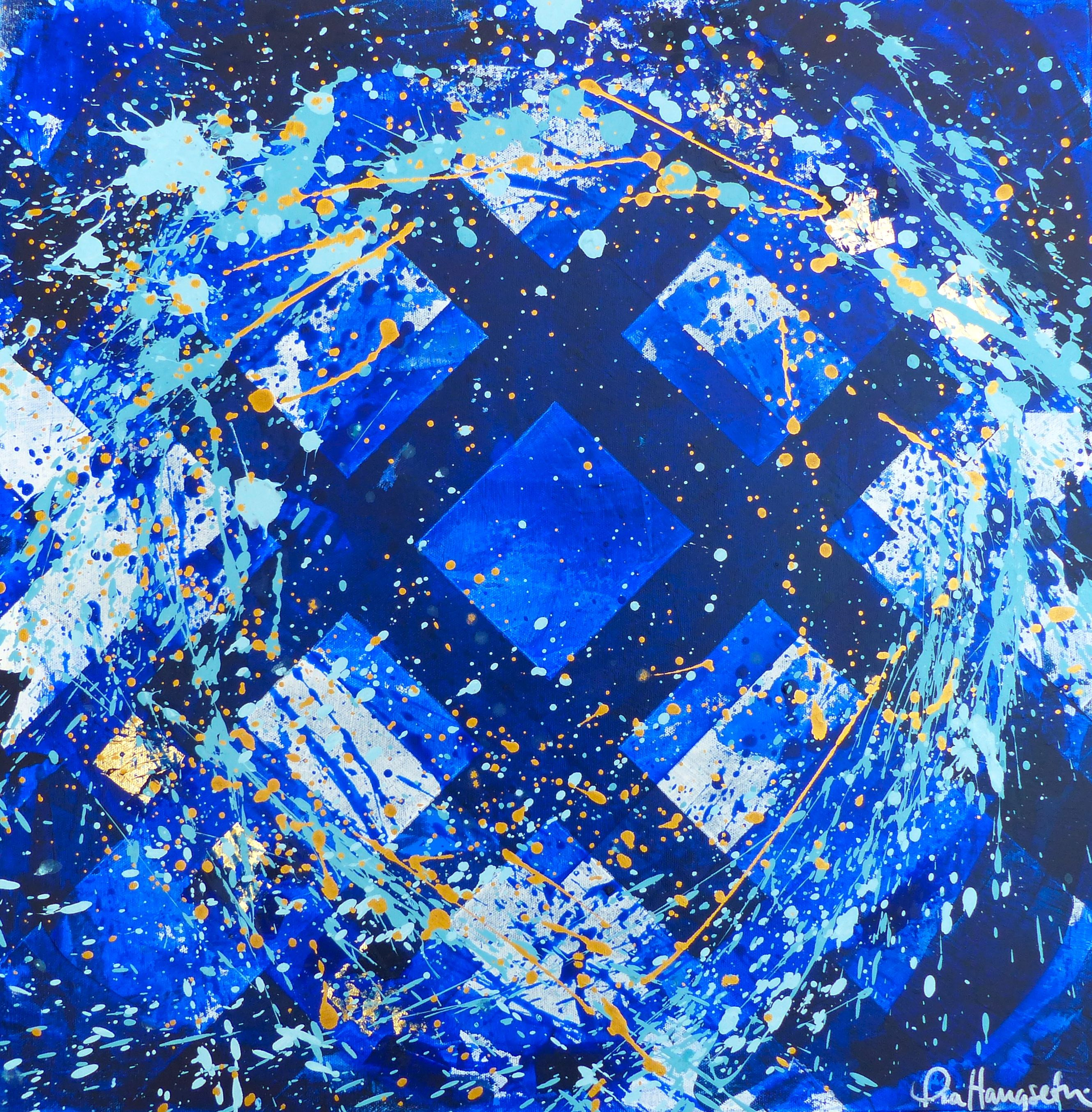 Abstract art by Pia Haugseth