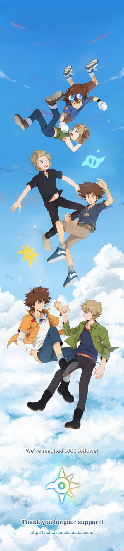 Love the brotherly relationship of Taichi & Yamato, #Digimon