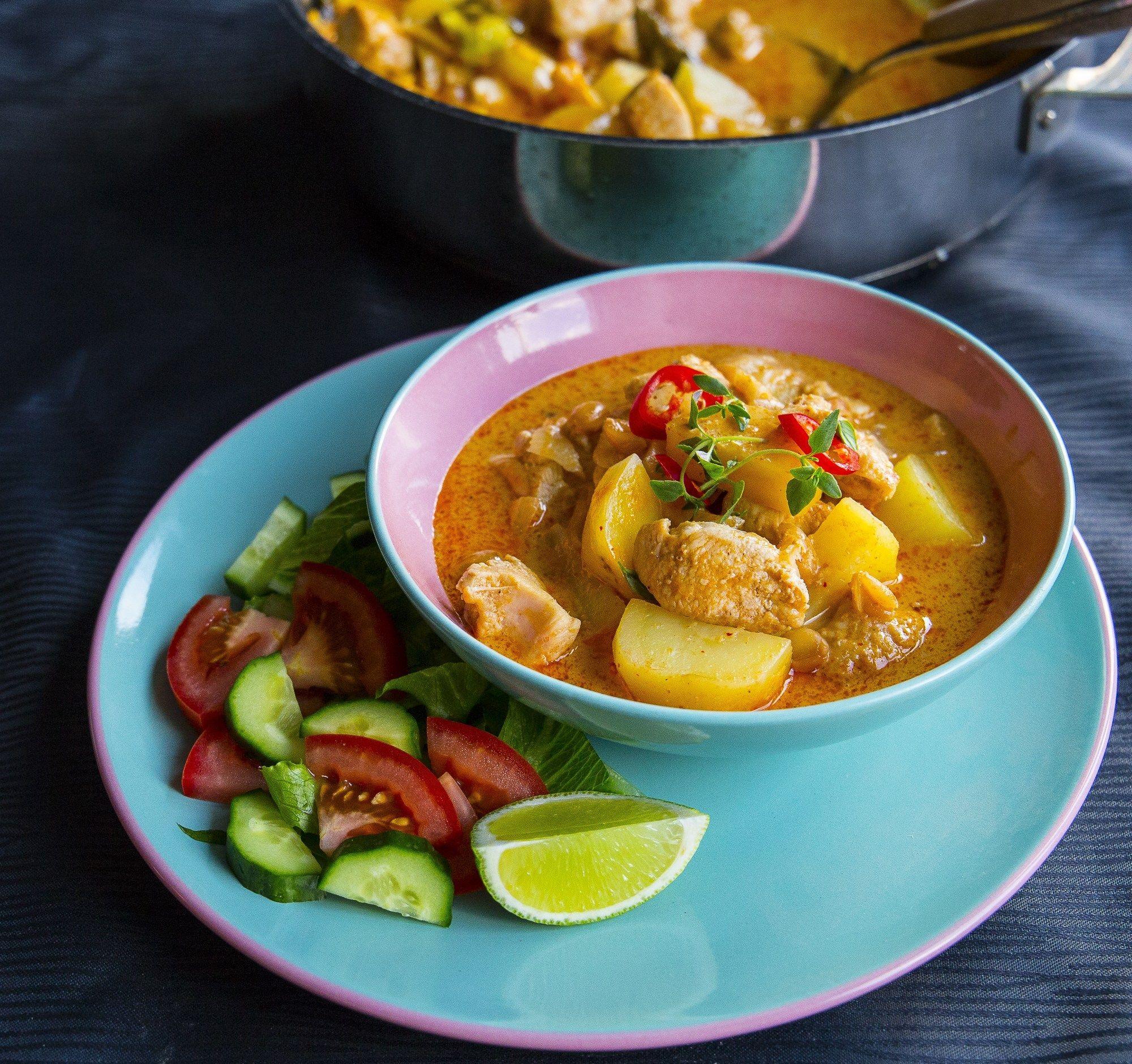 kyckling curry gryta per morberg