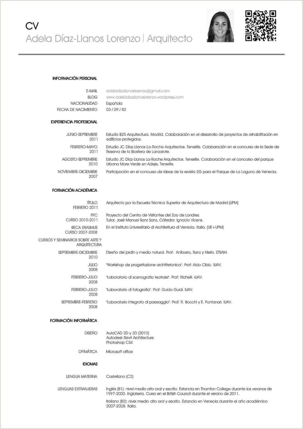 Curriculum Vitae Para Rellenar Gratis En Espanol Curriculum Vitae Resume Words Resume