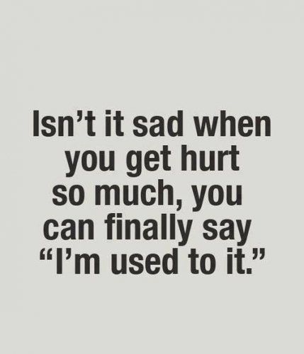 Feeling Hurt Quotes Quotes About Hurting P...