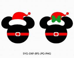 Image Result For Mickey Mouse Christmas Svg Natal Do Mickey Ideias Pra Aniversario Camisetas De Natal