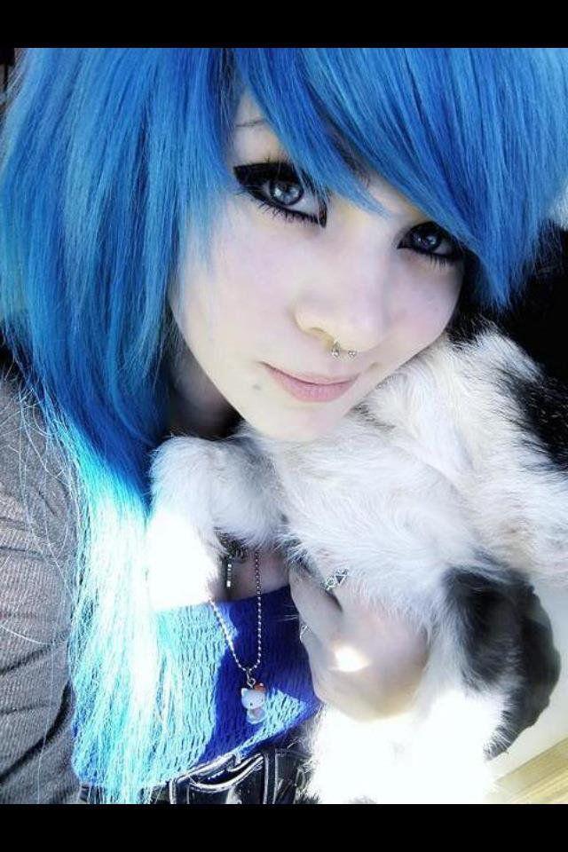 Cheveux colorés ♥ Cheveux, Coloration cheveux et Cheveux