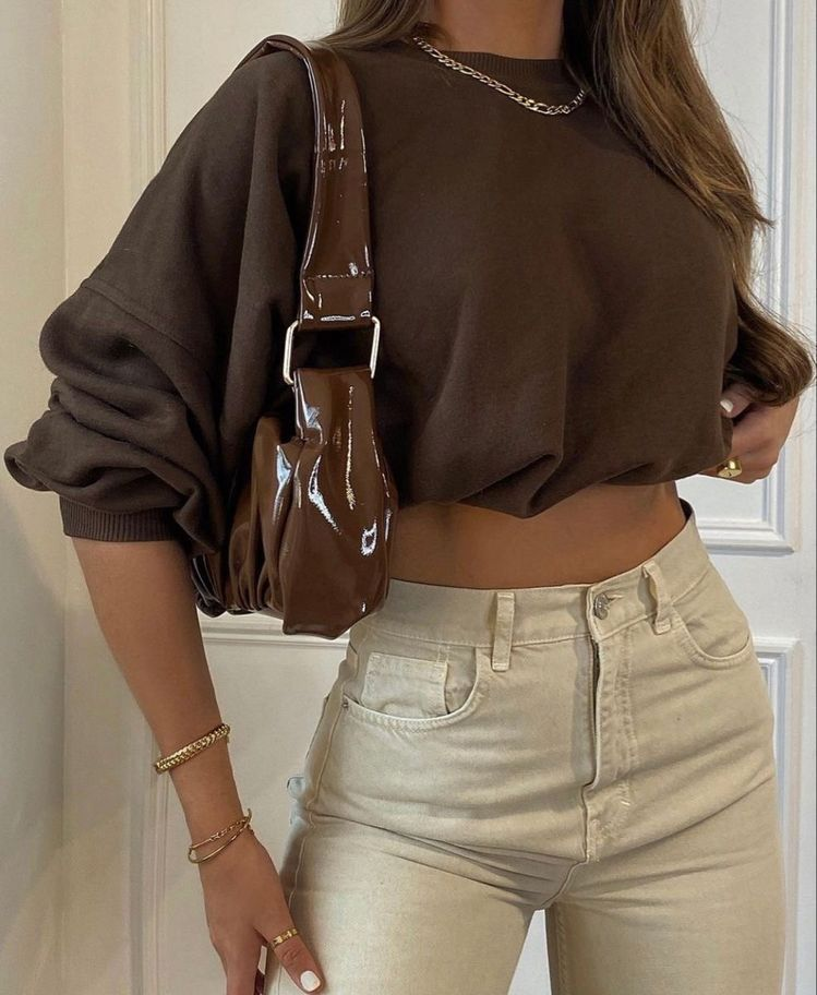 Trending: Chocolate Brown Outfit