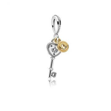 e01ea1e205a LXBOUTIQUE - Conta PANDORA Pendente Key To My Heart 796593