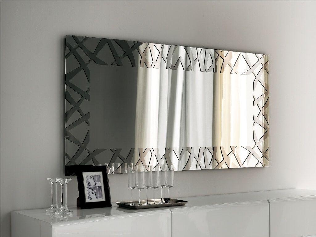 Decorative Rectangular Wall Mirrors Mirror Wall Living Room
