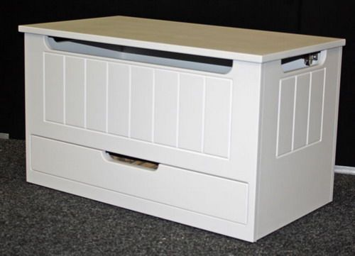 White Kids Toy Box With Drawer Design White Toy Chest Boys Toy