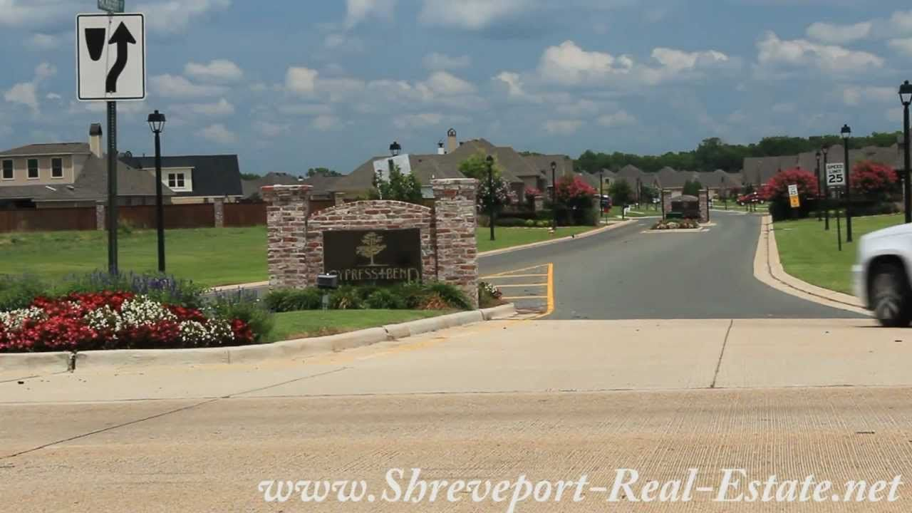 Cypress Bend Subdivision Neighborhood Bossier City La Bossier City The Neighbourhood Cypress