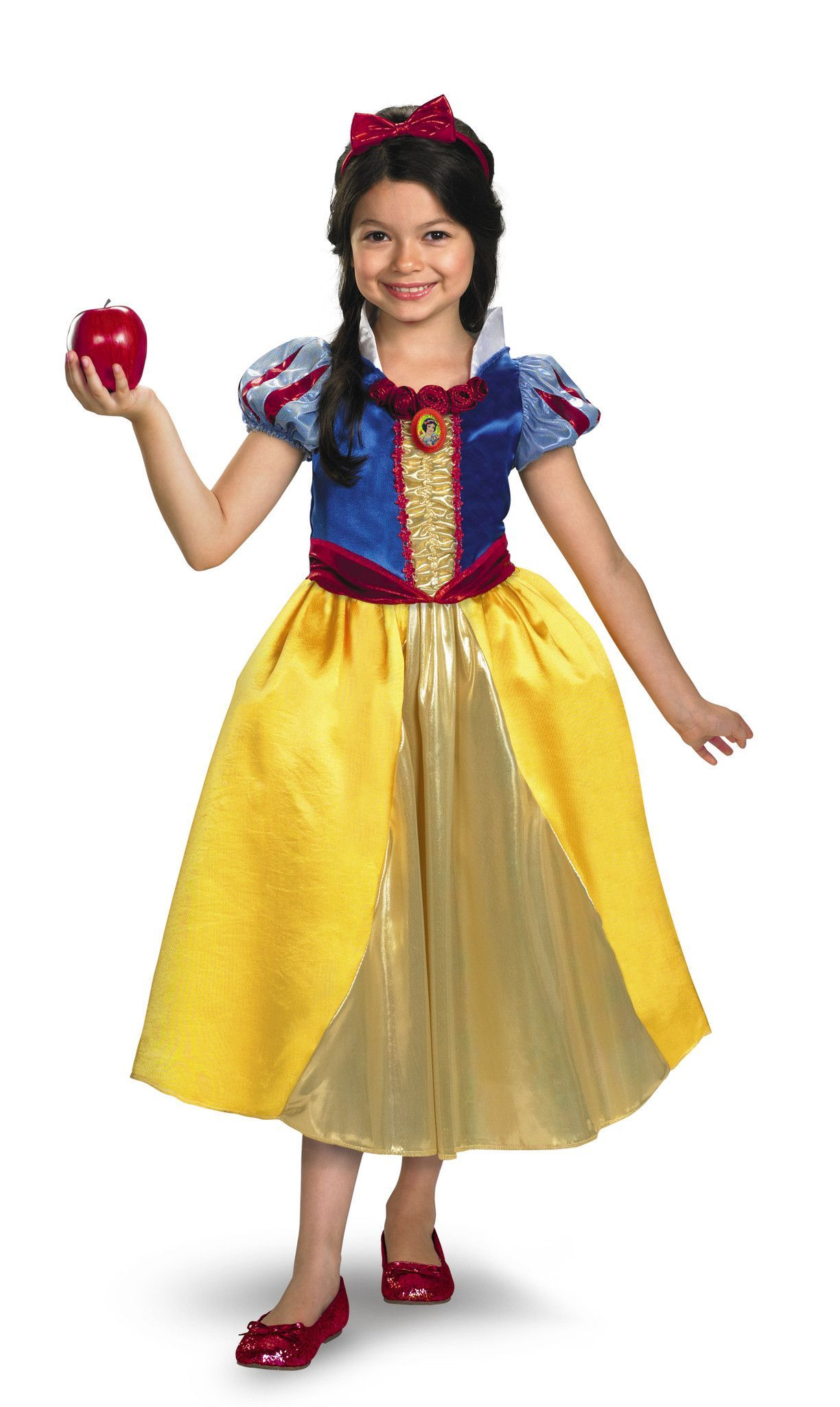 Snow White Princess Disney Girls Child Halloween Costume