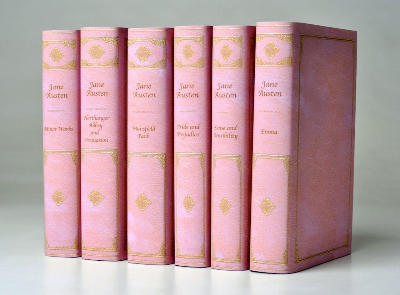 how cool is this jane austen collection from juniper books?