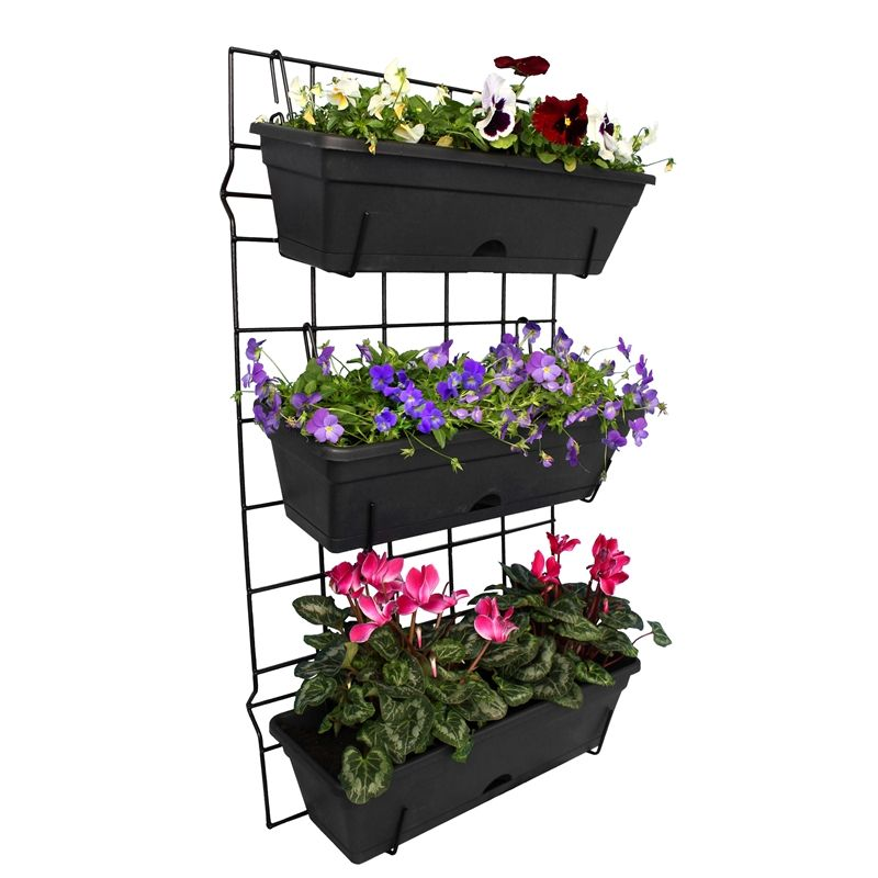 Find Whites Outdoor 3 Pot Garden Up Vertical Garden Set At Bunnings  Warehouse. Visit Your Local Store For The Widest Range Of Gift Cards U0026  Ideas Products.