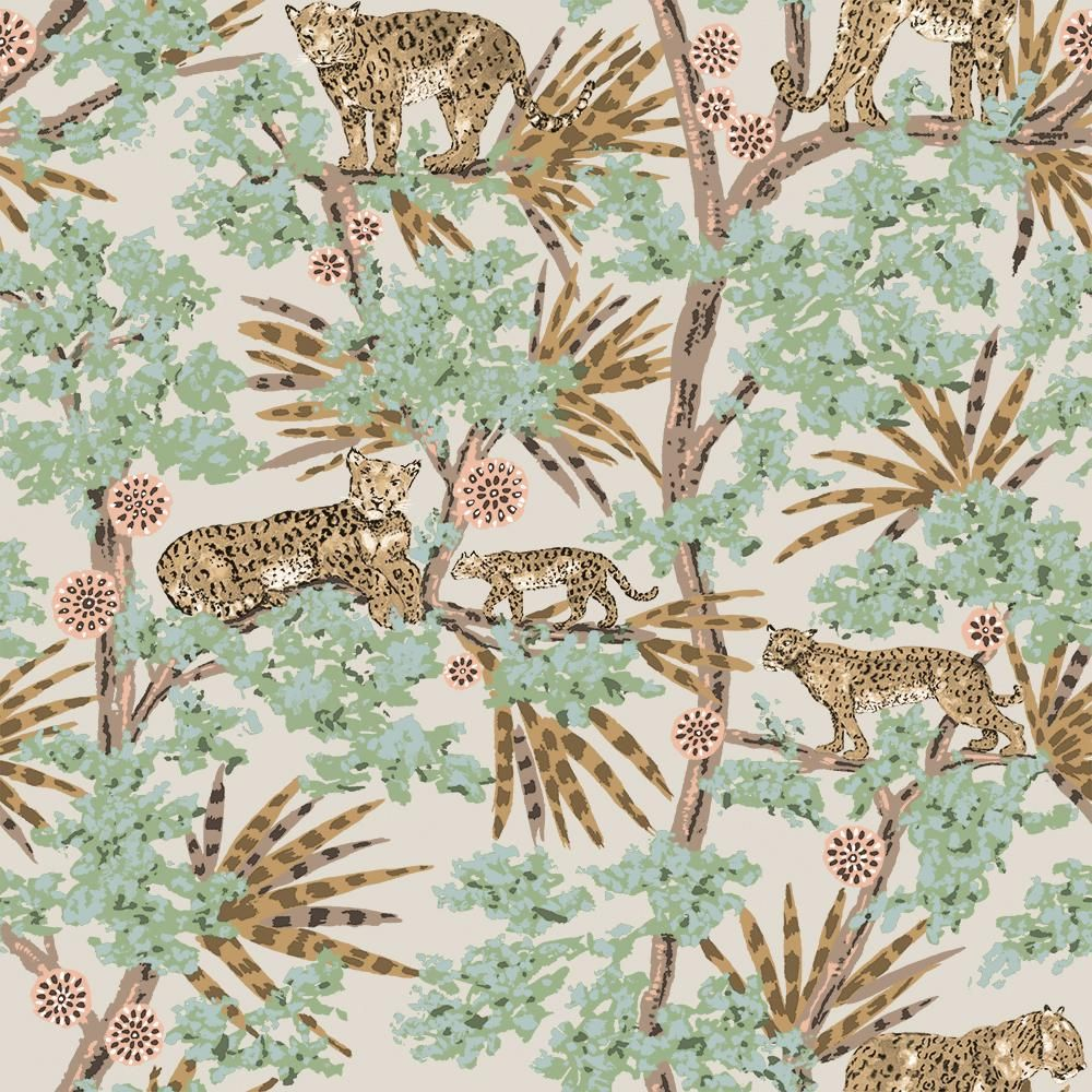 Tempaper Leopards Mocha Vinyl Peelable Roll Covers 60 Sq Ft Le647 The Home Depot In 2021 Removable Wallpaper Peel And Stick Wallpaper Leopard Wallpaper