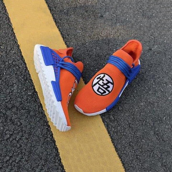 CUSTOM GOKU PRINT NMD RUNNING SHOES DRAGONBALL Z | Human