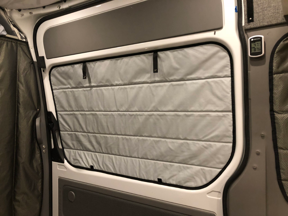 Sprinter Van Insulated Shade Slider Vanmade