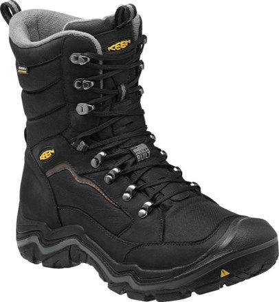 Columbia Bugaboot Ii Wide Snow Boot para hombres, Negro, Carb¨®n, 10 2E US