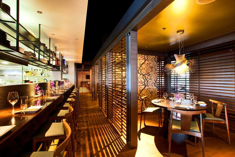Sake restaurant bar brisbane interior designed by