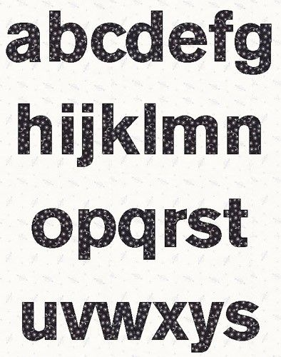 photograph regarding Printable Fonts referred to as Printable Lowercase Alphabet Letters: Sans Font alphabet