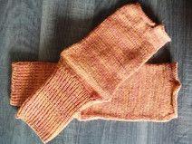 handgestrickte Zehentrenner / Socken