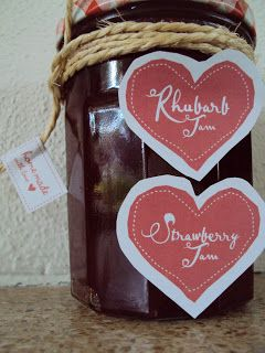 Life and Lizzy♡: Recept Aardbeien- rabarberjam