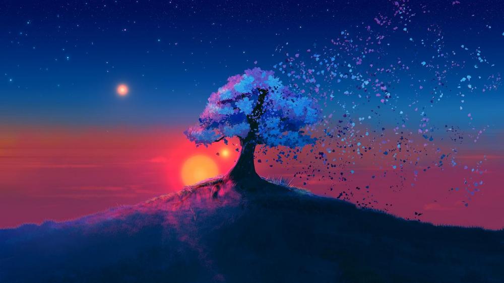 Been A While Since I Ve Seen A Good Wallpaper Dump Wallpaper Post Tree Sunset Wallpaper Sunset Wallpaper Landscape Wallpaper