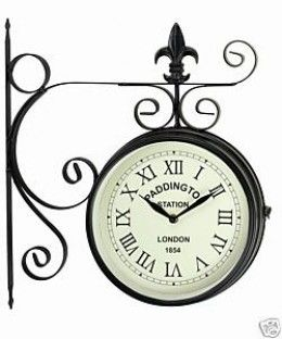Outdoor Clocks A Stylish Way To Decorate Your Garden Wall Clock Clock Outdoor Clock
