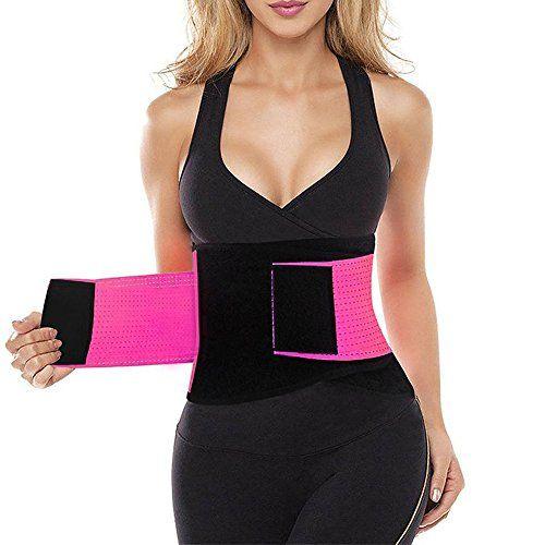 Women Thigh Shaper High Waist Trimmer Wrap Fat burning Workout Excercise Belt US
